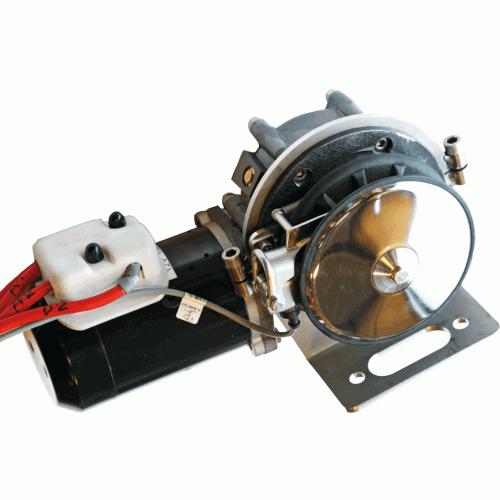 Side-Power Freifallankerwinde MAXI 43/44
